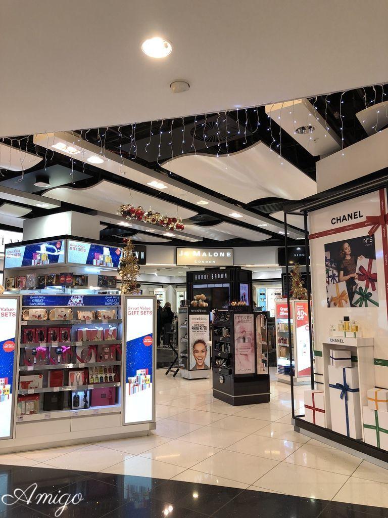倫敦 Gatwick Airport出境免稅店