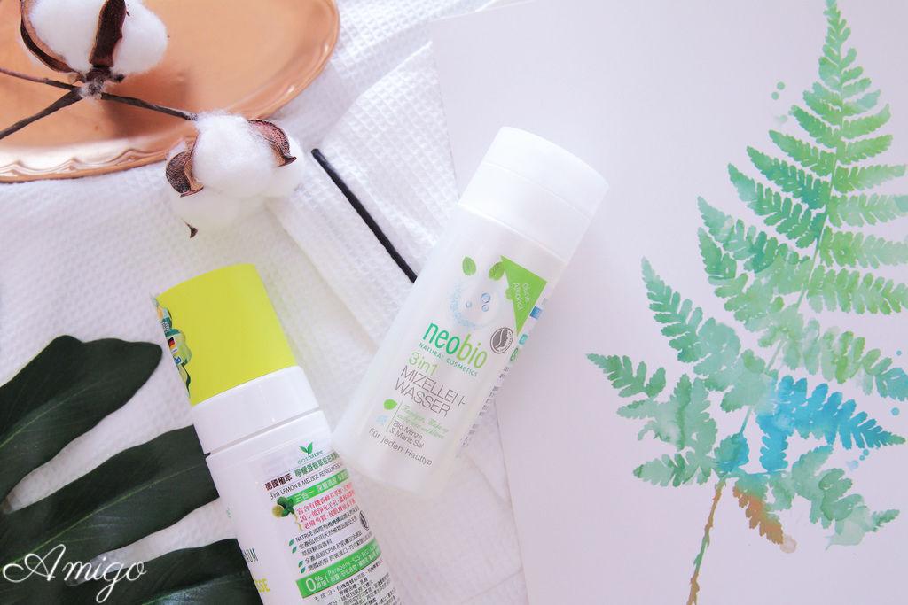 麗柏有機 neobio 三合一清爽保濕卸妝潔膚水
