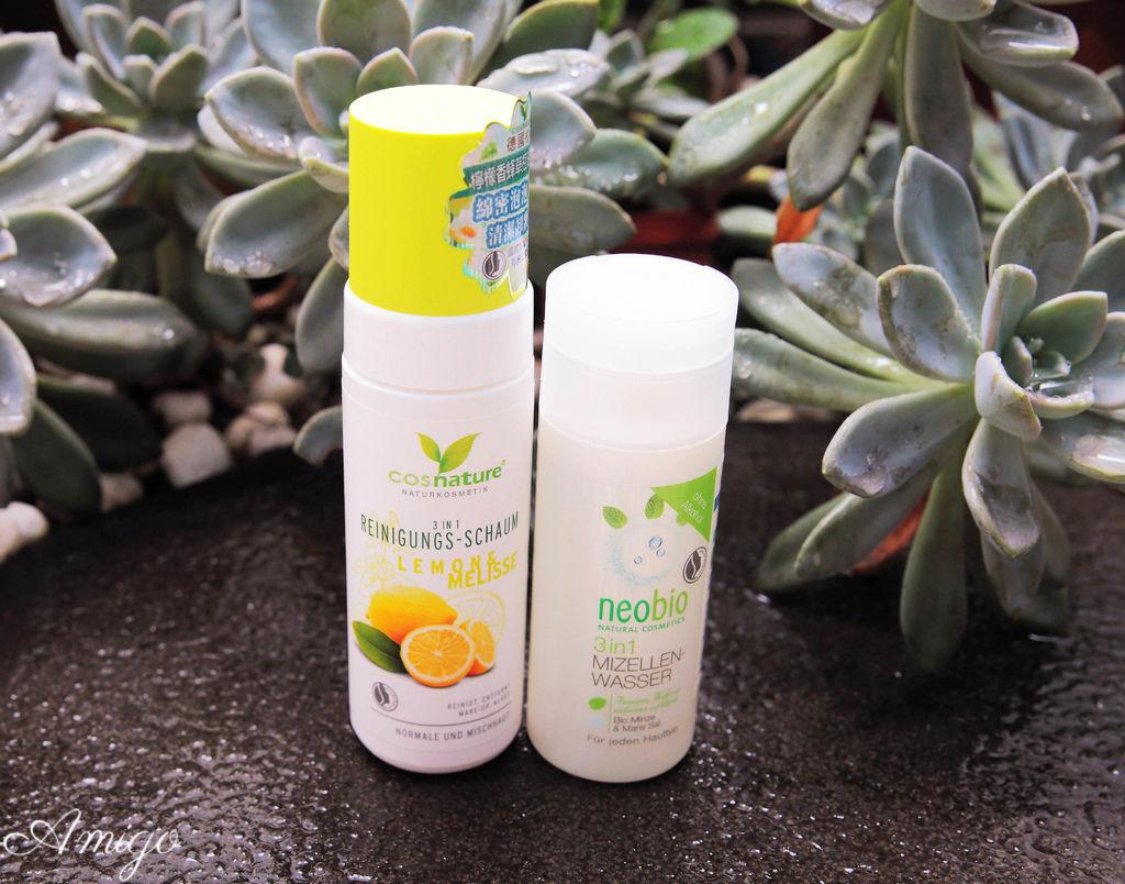 德國麗柏有機neobio三合一卸妝潔膚水 德國植萃cosnature檸檬香蜂草控油潔顏慕斯