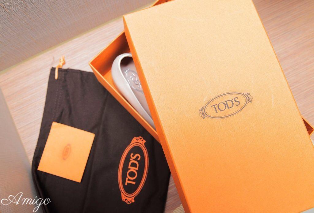 YOOX.COM Tod's豆豆跟鞋開箱