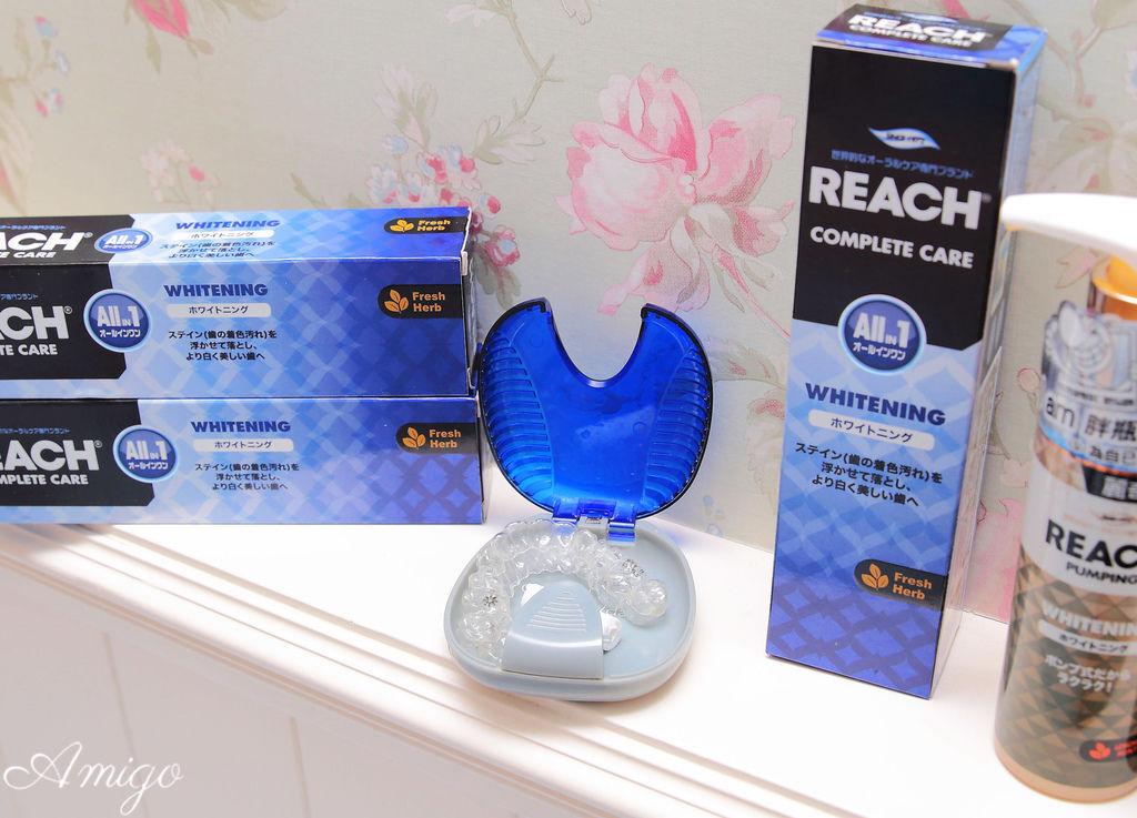 韓國LG 麗奇REACH 寬版牙刷,軟管牙膏,Pumping牙膏