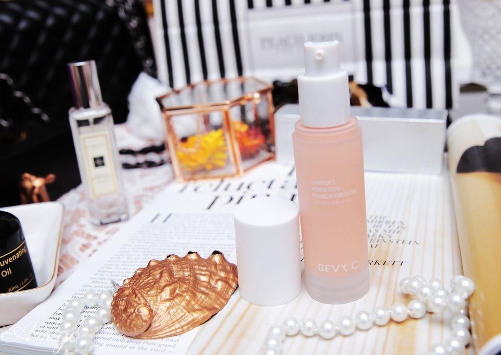 BEVY C. Omega賦活能量精華油,裸紗親膚 淨白粉底液 ,裸紗親膚 凝光粉餅