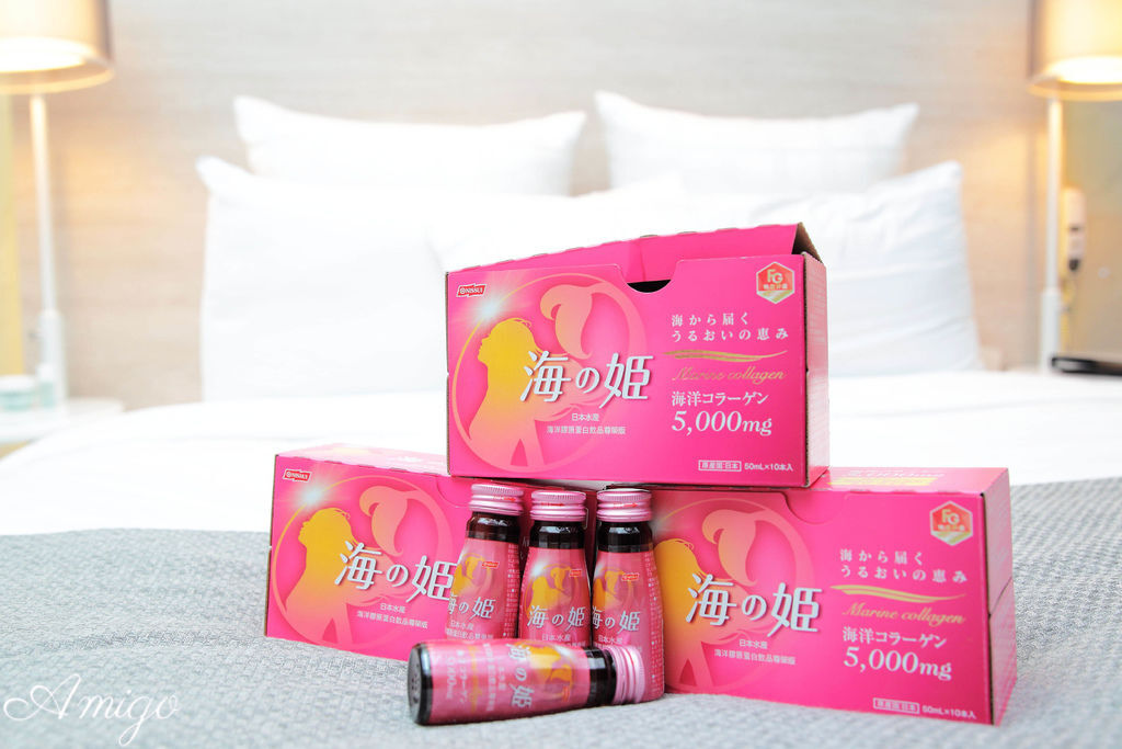 日本水產 海之姬膠原蛋白飲 白桃口味