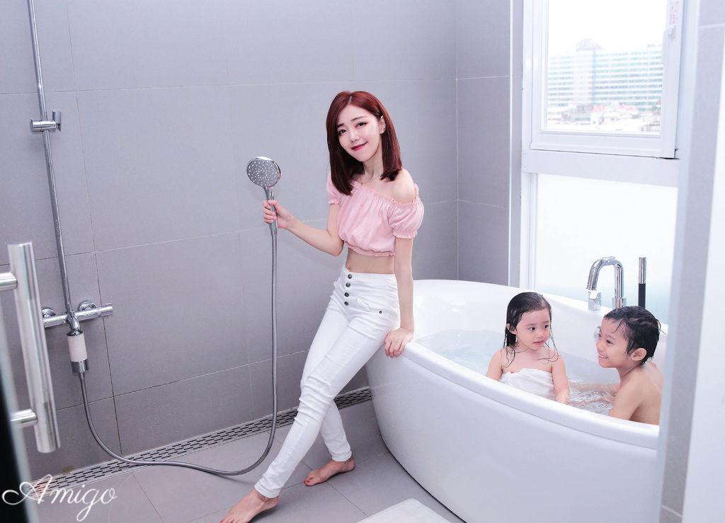 KOHLER 淋浴軟水過濾器,多功能手持花灑