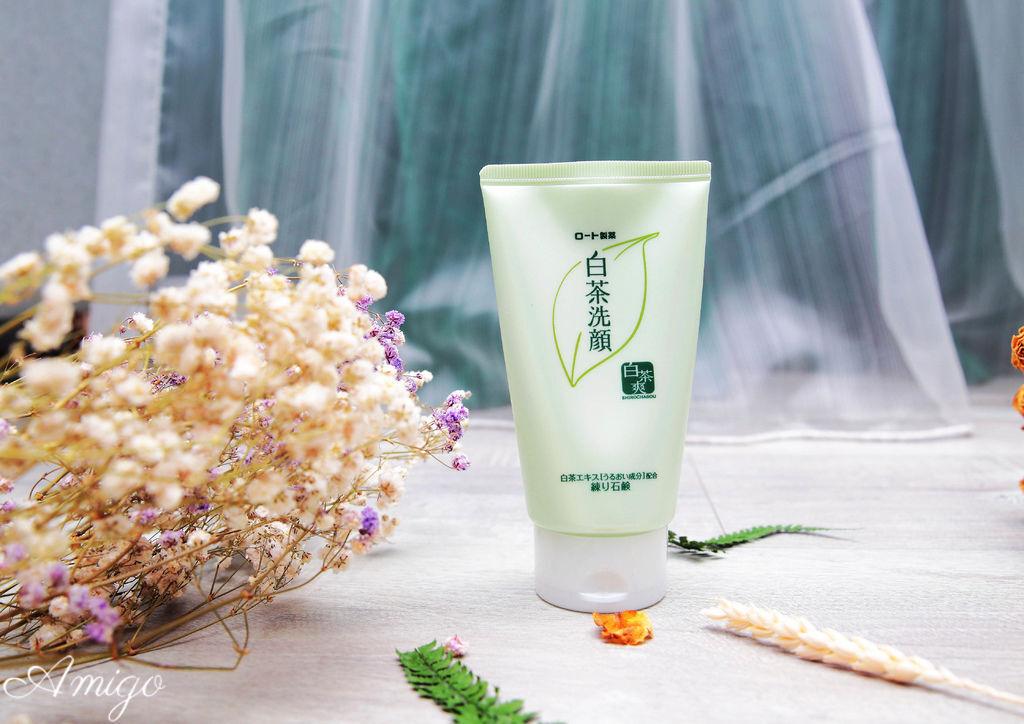 日本洗顏聖品 白茶爽 白茶多酚洗顏皂霜,白茶多酚泡洗顏,白茶多酚潔顏皂