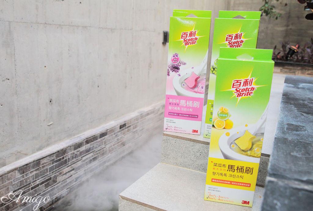 3M 百利菜瓜布馬桶刷 香水系列,可拋式超強淨馬桶刷
