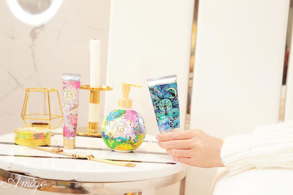 日本hacica生蜂蜜護手霜/身體乳系列