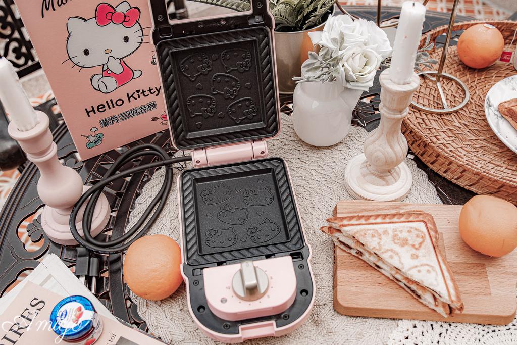 HELLO KITTY 熱壓三明治機/鬆餅機 OT-530 (三麗鷗正版授權)