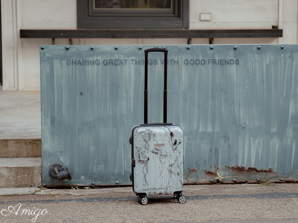 FLEXFLOW大理石測重行李箱