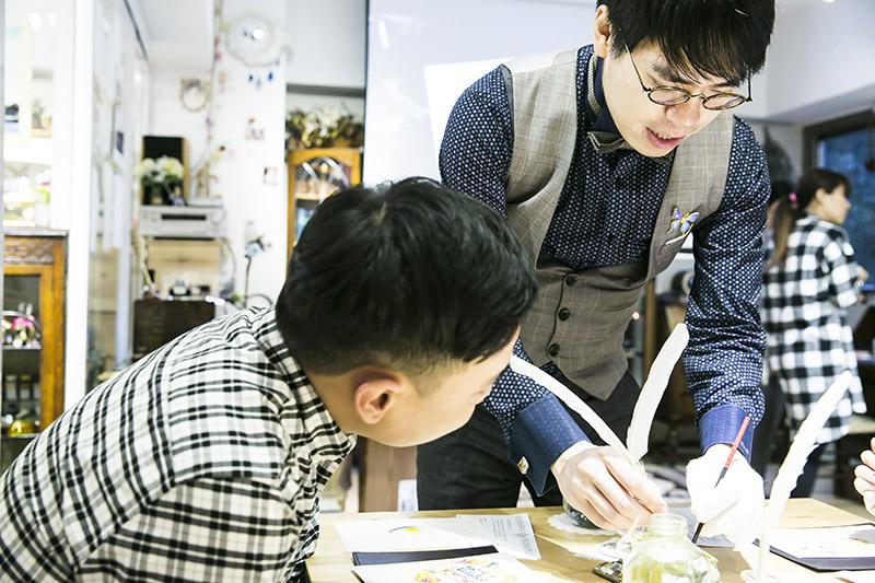 台北日日好文創鋼筆美學大師韓玉青老師