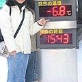 零下6.8度