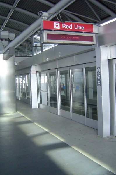 捷運(bart)的撘車口