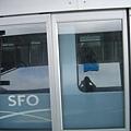 這就是舊金山的捷運車廂