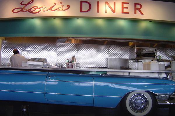 機場內的某家餐廳