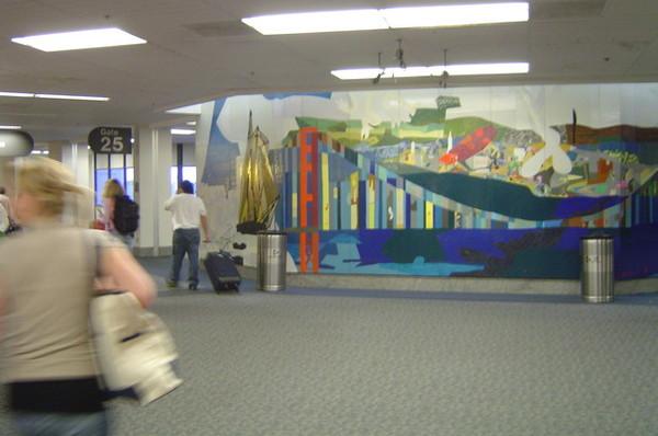 舊金山機場內部