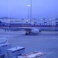 我等等要搭的飛機--從舊金山到夏洛特