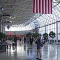 早晨6點的夏洛特機場很冷清