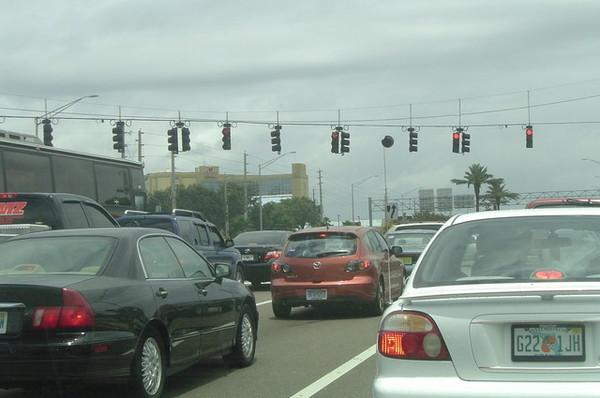 好複雜的紅綠燈