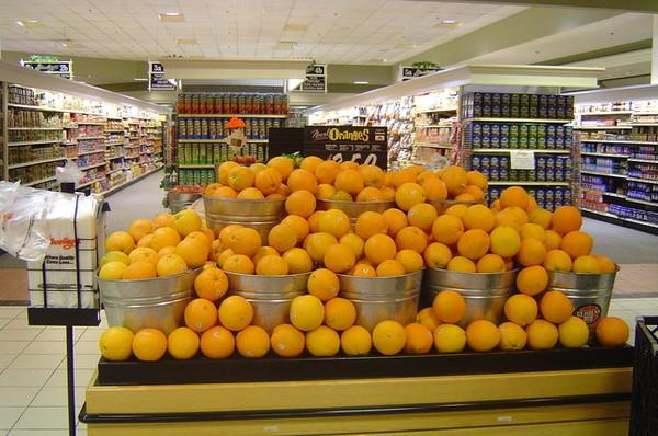 逛超市發現超級大的Orange區