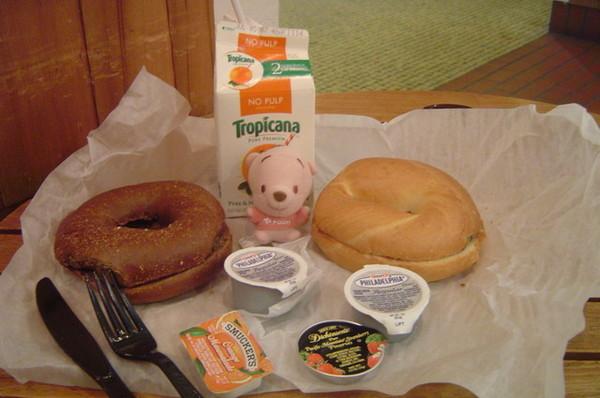 我的早餐是貝果
