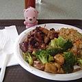 午餐吃中國菜!!