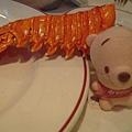 吃飽來玩小尼--龍蝦不要咬我!!