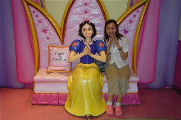 我也要當白雪公主