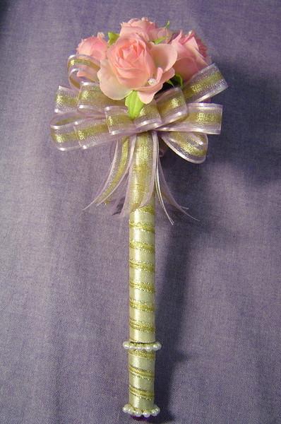 浪漫風簽名筆--粉紅玫瑰