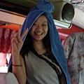 泰國當地女生的帽子