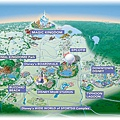 迪士尼世界地圖