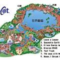 Epcot 地圖