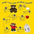 製作熊熊流程圖