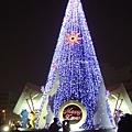 2007年在中央公園的聖誕樹