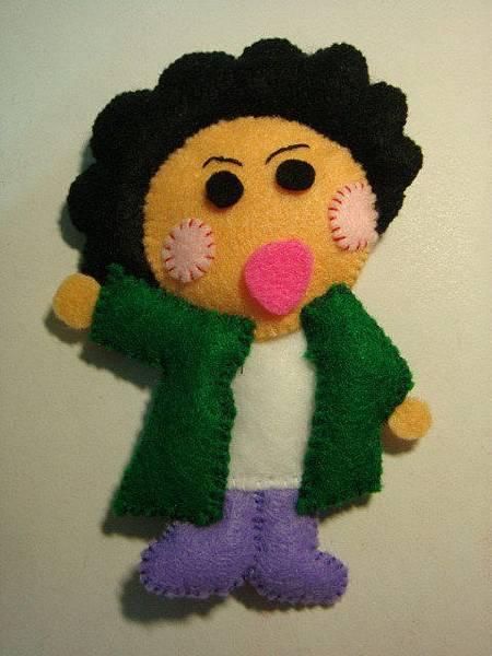 [不織布]--陳菊娃娃