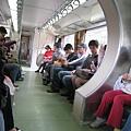 平溪小火車裡人超多