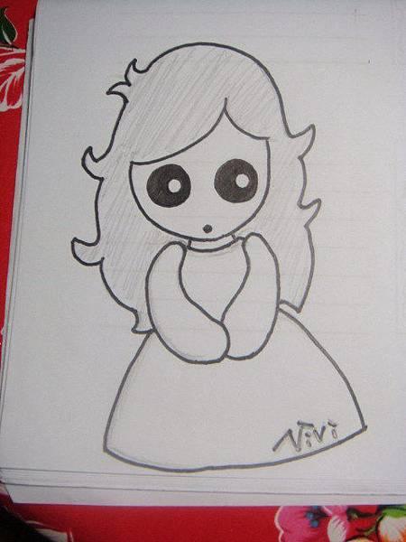 [不織布]--Q版娃娃草稿