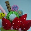[不織布]--豐富的生日蛋糕