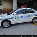 南區分局的警車