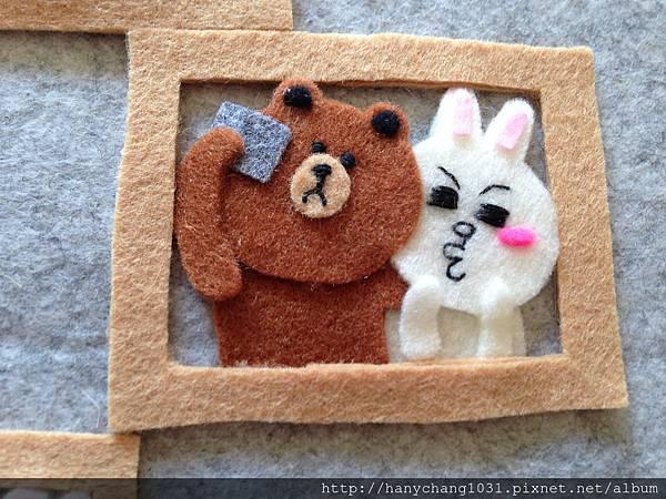 熊大和兔兔自拍