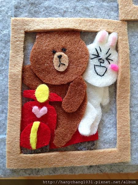 熊大和兔兔騎車兜風