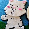 [不織布手作物]--貓咪我很認真縫的!!