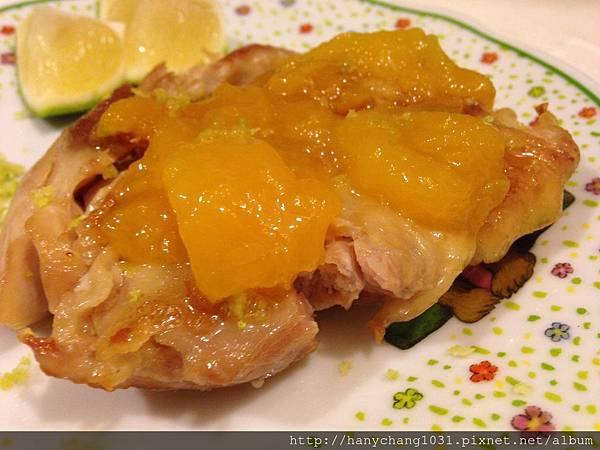香芒檸檬雞腿排