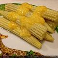 涼拌玉米筍佐芒果沙拉醬