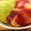 飯後水果--芭樂+水蜜桃
