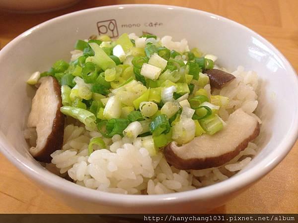 蔥花香菇炊飯