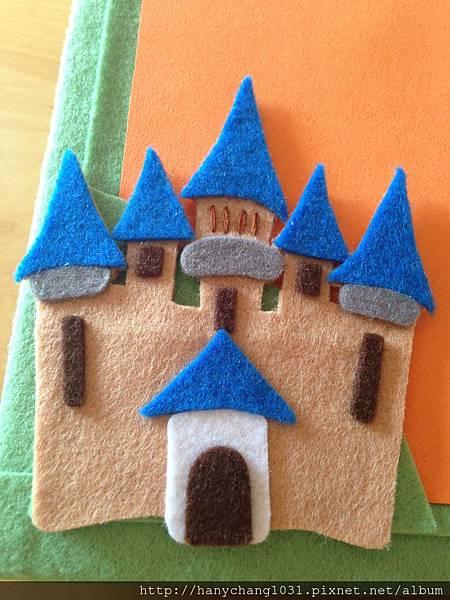 [不織布手作物]--象徵幸福的城堡