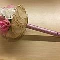 [婚禮小物]--浪漫風玫瑰花球簽名筆 012.jpg