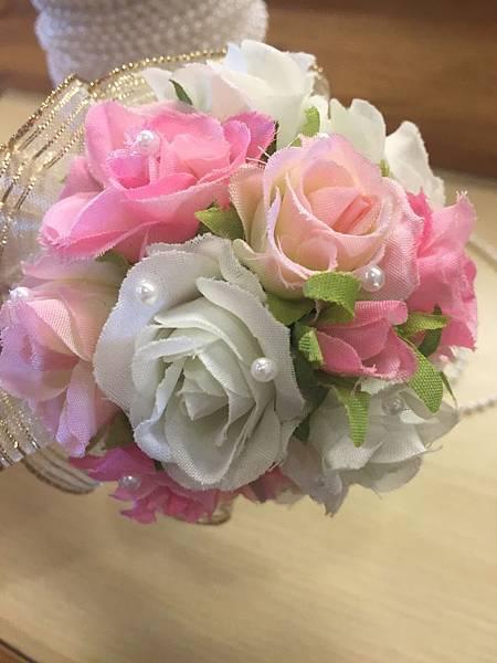 [婚禮小物]--浪漫風玫瑰花球簽名筆 015.jpg