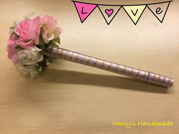 [婚禮小物]--浪漫風玫瑰花球簽名筆 019.jpg