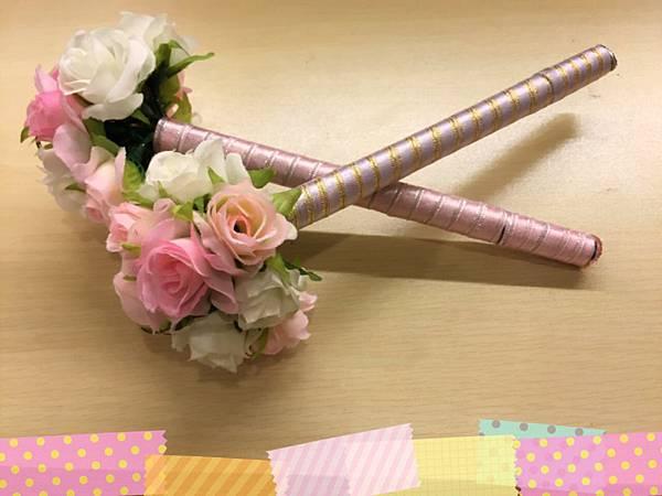 [婚禮小物]--浪漫風玫瑰花球簽名筆 021.jpg